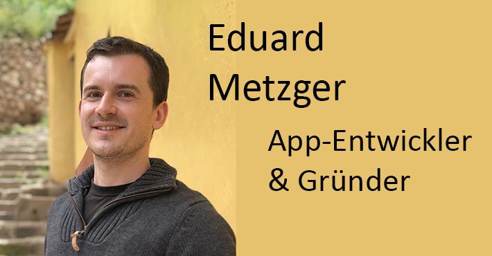App-Entwickler Eduard Metzger über sein Unternehmen und Auswandern NotePlan