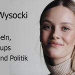 Modeln, Startups und Politik mit Vivien Wysocki Erfolgsgeschichten Podcast